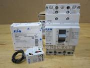 BZMD1-A80 BZM1-XA230-240VAC Eaton Thermal-Magnetic Breaker 80A With Shunt Trip Release