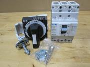 BZMD1-A80 BZM1-XTVD Eaton Thermal-Magnetic Breaker 80A With Rotary Handle