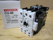 CU-40-3A1a1b-110V Teco Magnetic Contactor 3A1a1b Coil 110V CU40E5