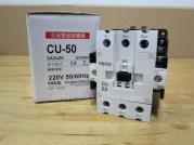 CU-50-3A2a2b-220V Teco Magnetic Contactor 3A2a2b Coil 220V CU50RH5