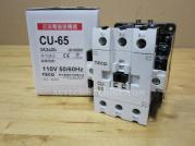 CU-65-3A2a2b-110V Teco Magnetic Contactor 3A2a2b Coil 110V CU65RE5