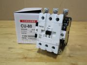 CU-80-3A2a2b-110V Teco Magnetic Contactor 3A2a2b Coil 110V