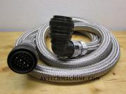 E91F2412H0070 Fanuc Oi-MC Servo Motor 4th Axis Power Cable Length 7'