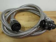 E91F2412H0080 Fanuc Oi-MC Servo Motor 4th Axis Signal Cable Length 7'