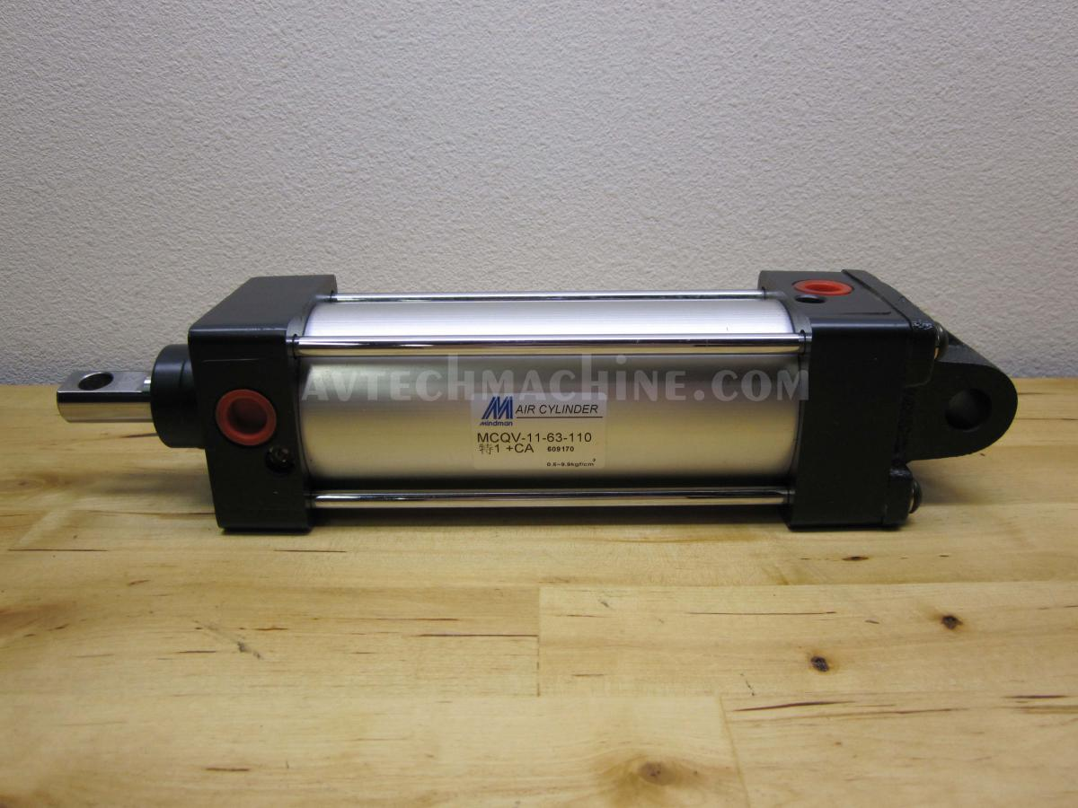 MCQV2-11-63-110-1+CA Mindman Pneumatic Air Cylinder Tool Magazine
