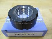 YSF-M30-1.5P-RG Yinsh Precision Lock Nut P1.5 Grinding-Black
