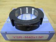 YSR-M40-1.5P-RT Yinsh Precision Lock Nut P1.5 Turning-Red