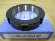 YSR-M50-1.5P-RG Yinsh Precision Lock Nut P1.5 Grinding-Black