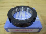 YSR-M55-2.0P-RT Yinsh Precision Lock Nut P2.0 Turning-Red